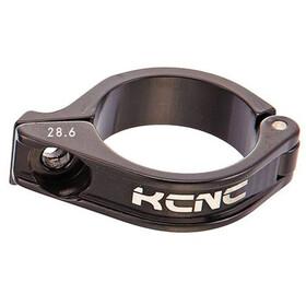 KCNC Front Derailleur Clamp Ø28,6mm 3°, negro